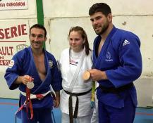 Le Judo Club Blanzynois s'entraine avec 2 médaillés Olympiques