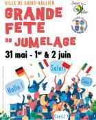 Grande fête du jumelage à Saint-Vallier du 31 mai au 2 juin 2019
