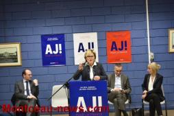 Réunion de soutien à la candidature de M. Alain Juppé (Montceau)