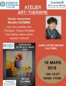 Du 8 au 31 mars 2018 à l'Espace Culturel Leclerc (Montceau)