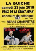 Feux de la Saint Jean à La Guiche