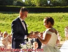 Mariage : Cérémonie laïque à Sanvignes