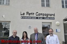 Les Bizots: Inauguration du restaurant «le petit campagnard»