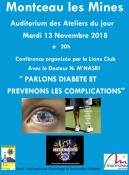 Lions Club de Montceau et Diabète (Santé) Voir la vidéo