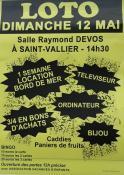 Au profit de l'association « Vacances d'enfants » (Saint-Vallier– Sortir)