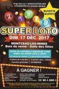 RAPPEL / Super loto, le dimanche 17 décembre 2017