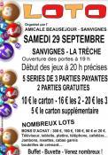 RAPPEL / Amicale Beauséjour ( Sanvignes)