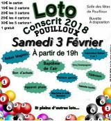 Les conscrits de Pouilloux organisent un loto