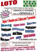 Loto de l'ASPTT Chalon à Genouilly (Sortir)