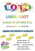 USGM : foot de Génelard (Sortir)