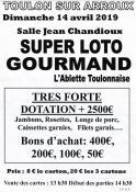 Super loto gourmand à Toulon-sur-Arroux