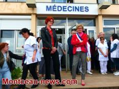 Réactualisé  à 19 h 55 - Avenir du centre hospitalier Jean Bouveri