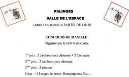 """Club """"La rencontre"""" de Palinges (Sortir)"""
