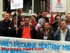 Réactualisé à 17 h 29 - Journée nationale d'action....  à Montceau :