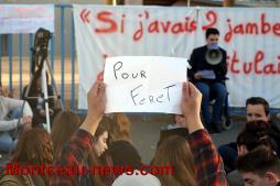 Réactualisé à 11 h 25 : Montceau - Manifestation au lycée Parriat de ce jeudi...