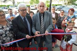Inauguration de la salle Mandela à Saint Vallier