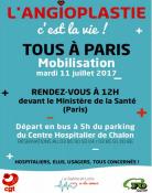 Tous à Paris pour défendre l'angioplastie (santé)