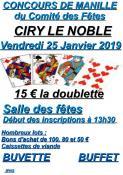 Comité des fêtes de Ciry-le-Noble
