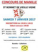 Concours de manille à Saint-Bonnet-de-Vieille-Vignes (Sortir)