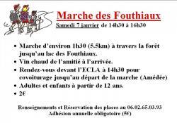 Samedi 7 janvier 2017, la marche des galipotes à Saint-Vallier