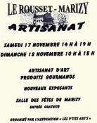 Artisanat d'art et produits gourmands au Rousset - Marizy (Sortir)