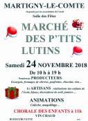 """Marché des petits lutins"" de Martigny-le-Comte (Sortir)"