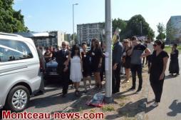 Montceau-les-Mines : Décès dans un accident du jeune Giovanni au rond-point du Plessis