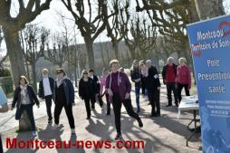 Marche solidaire pour Mars Bleu autour du lac du Plessis