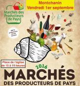Marché des producteurs de pays à Montchanin
