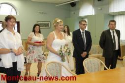 Mariage à Saint-Vallier
