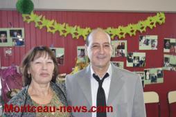 Un 100 pour super-Mario et Sylviane à la salle des fêtes de St Berain-sous-Sanvignes