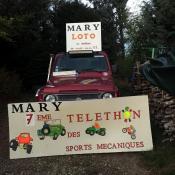 Loto et Téléthon des sports mécaniques à Mary...