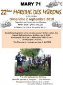 22ème Marche des Mûrons à Mary (Sortir)