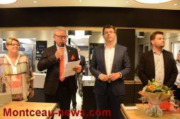 Inauguration du McDonald's de Digoin...
