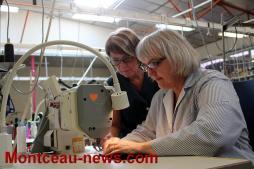 Economie – Deux mois après la reprise de MCD confection par Robur (Montceau-les-Mines)