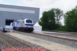 Inauguration du centre de maintenance des locomotives Erion  VOIR NOTRE VIDEO