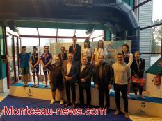 Première journée du meeting de natation du MON (Montceau)