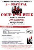 Qatrième festival Coup d'Gueule (Montceau-les-Mines)