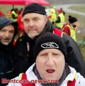 Manifestation CGT à la Fiole...