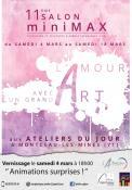 11ème salon Minimax 2017 – 4 au 18 mars  à Montceau-les-Mines (Sortir)