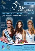 Miss Saône et Loire 2018 : Déborah LONAK va remettre son titre à la nouvelle élue