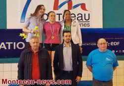 Championnats de France de natation à Montceau