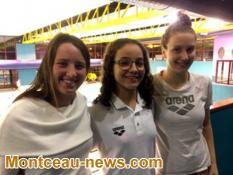 Natation - HADJER : Championne d'Algérie en stage à Montceau