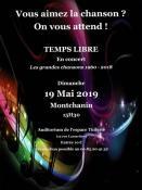 Temps Libre en concert à Montchanin