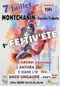 Vendredi 7 juillet : 1er FESTIV'ÉTÉ à Montchanin (Sortir)