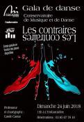 """Gala de danse """"Les Contraires"""" (Montceau)"""