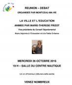 « Montceau ma vie » (Montceau-les-Mines – politique)