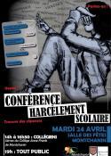 Conférence sur le harcèlements solaire (Montchanin)