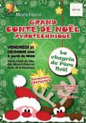 Grand conte de Noël pyrotechnique à Montchanin