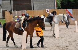 Initiation à l'équitation pour les vacances...